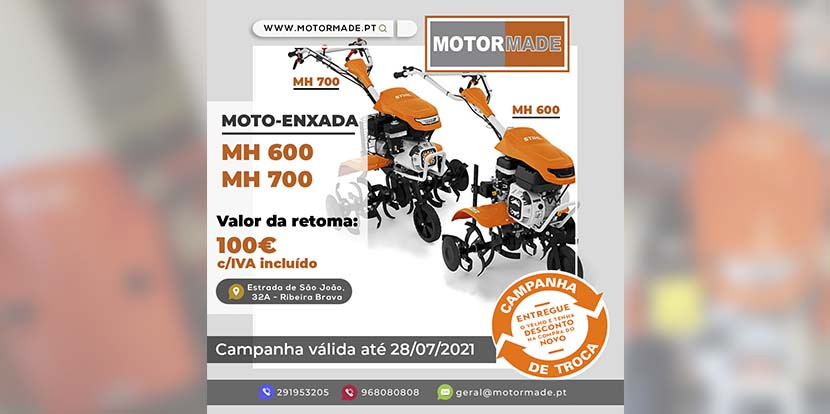 MOTO-ENXADA – Campanha