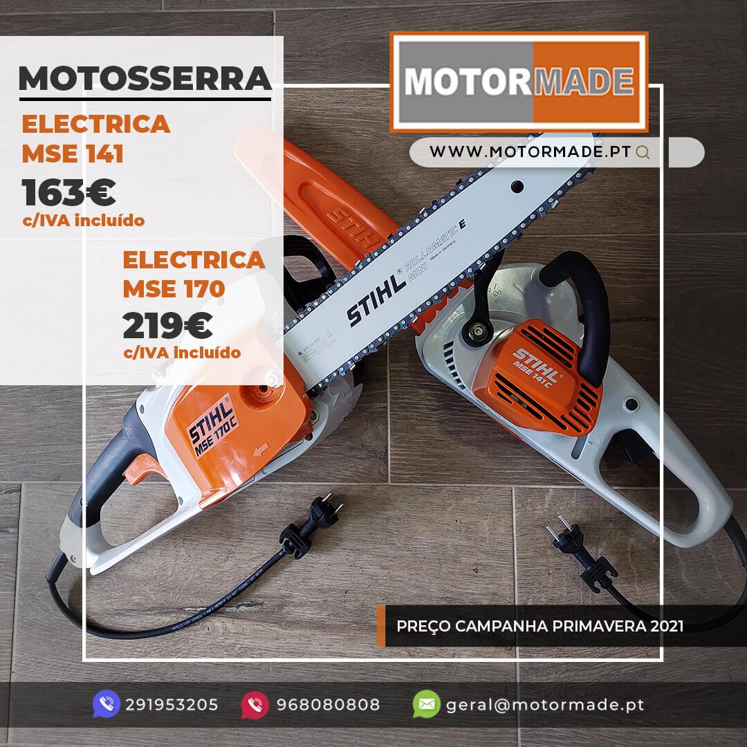 MOTOSSERRA MSE 141 / MSE 170